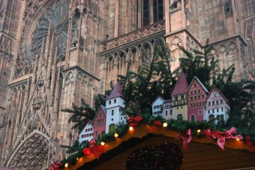 La Cathédrale de Strasbourg à Noël © Meyer