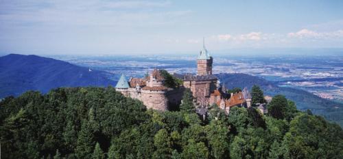 Le Château du Haut Koenigsbourg © Zvardon